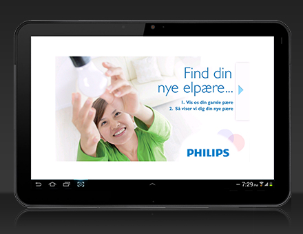 PHILIPS – Android Kiosk Application | Ephlux
