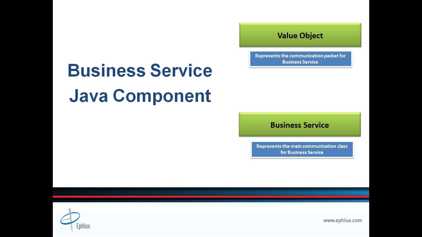 JD Edwards BSSV ValueObject BusinessService Class