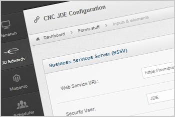 JDE CNC Configuration