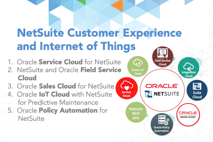 NetSuite Customer Experience - CX - Internet of Things - IoT