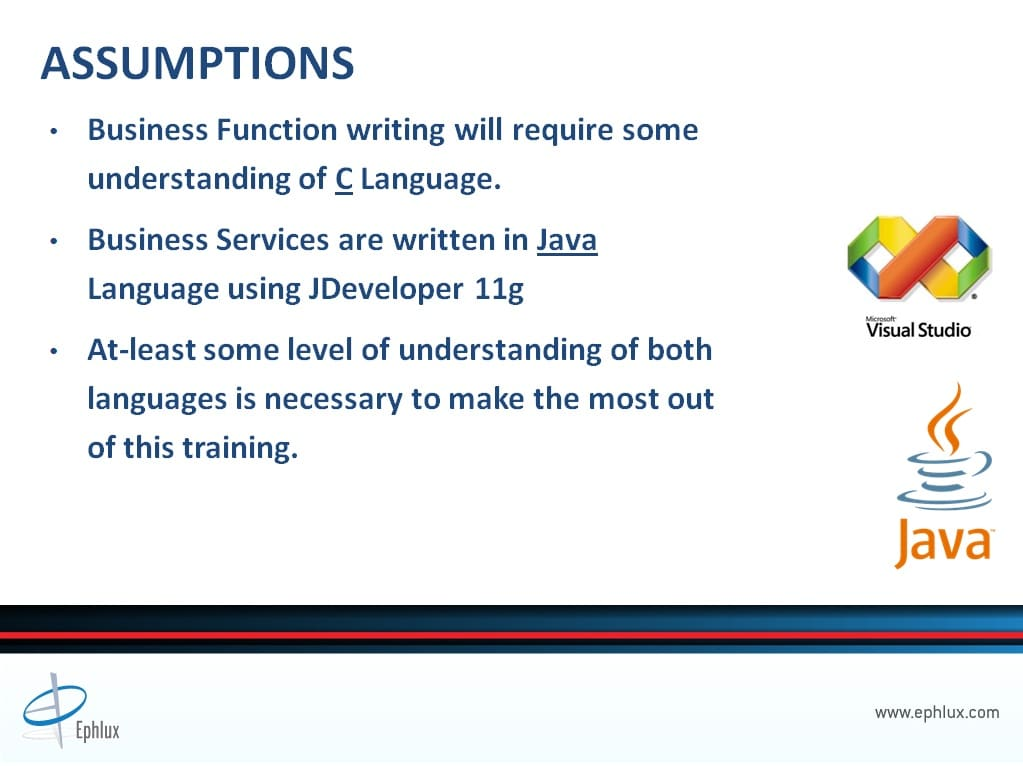 jd edwards business services integration presentation assumptions