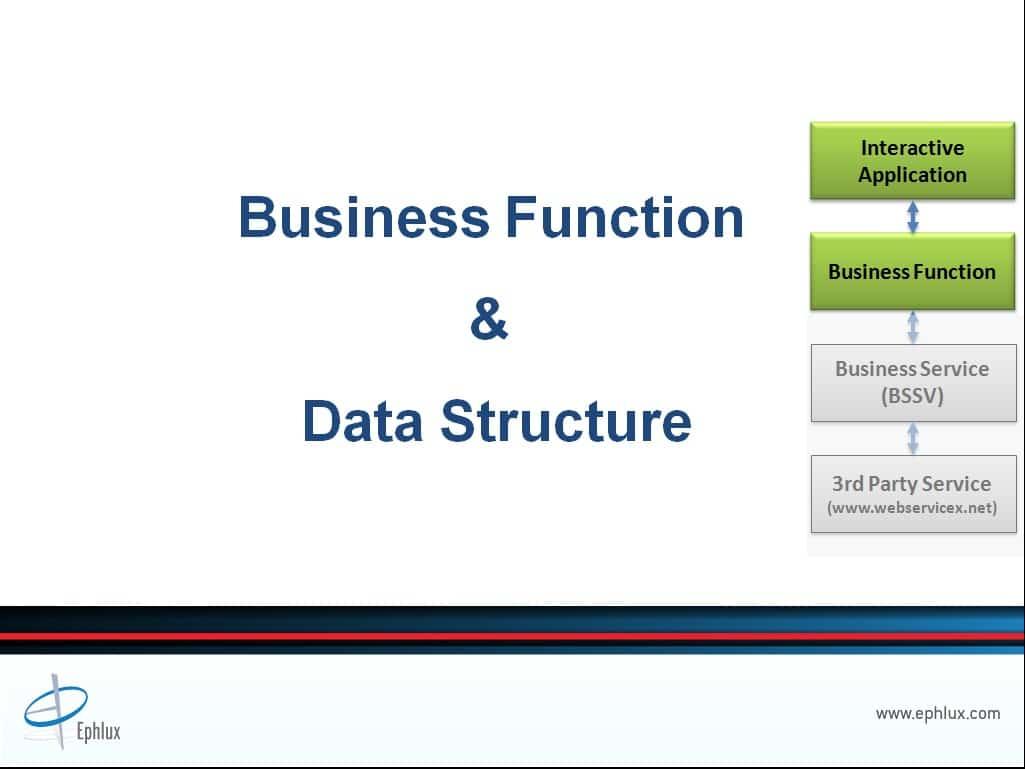 jd edwards business services integration presentation data structure design