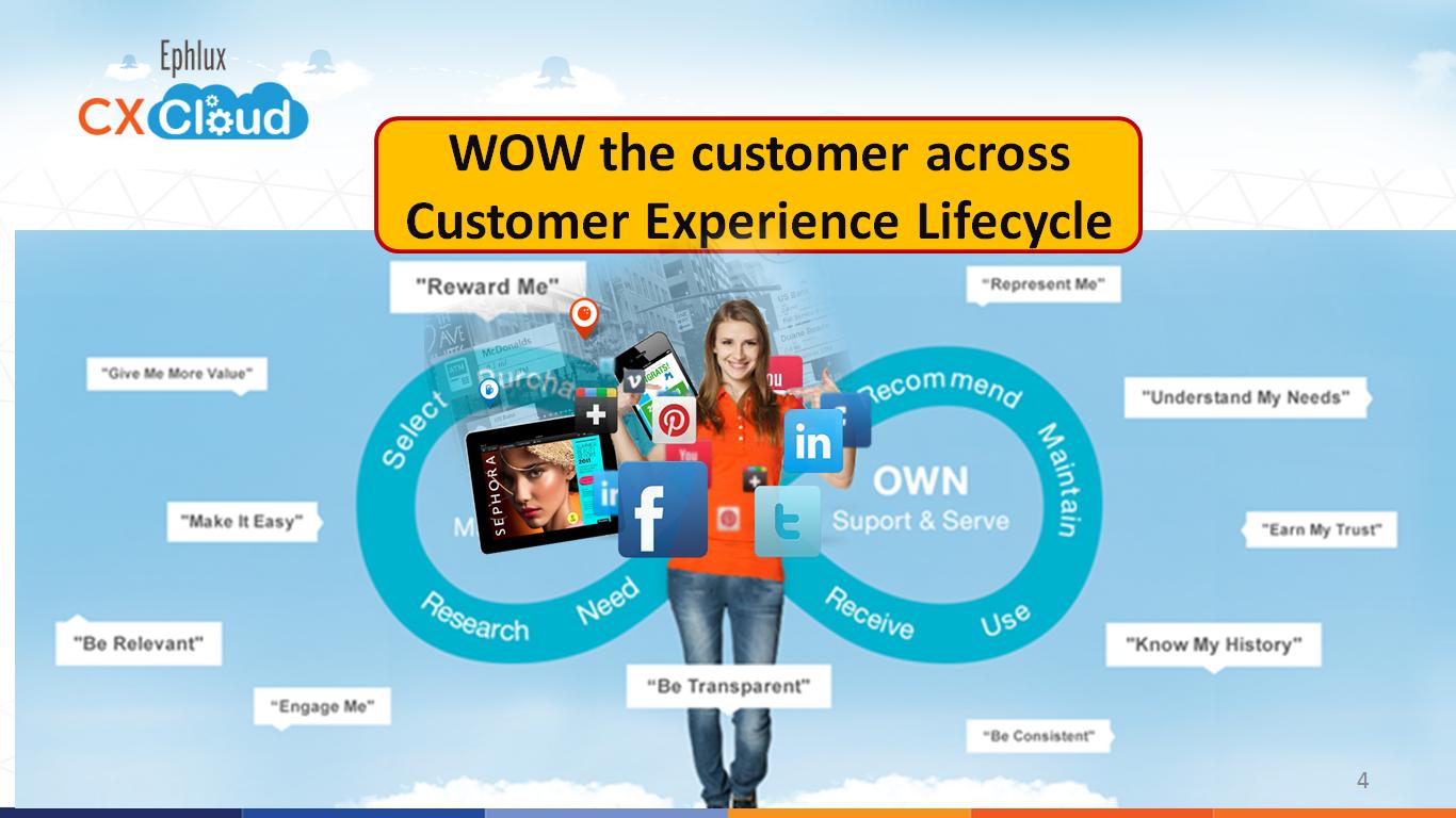 WOW the customer