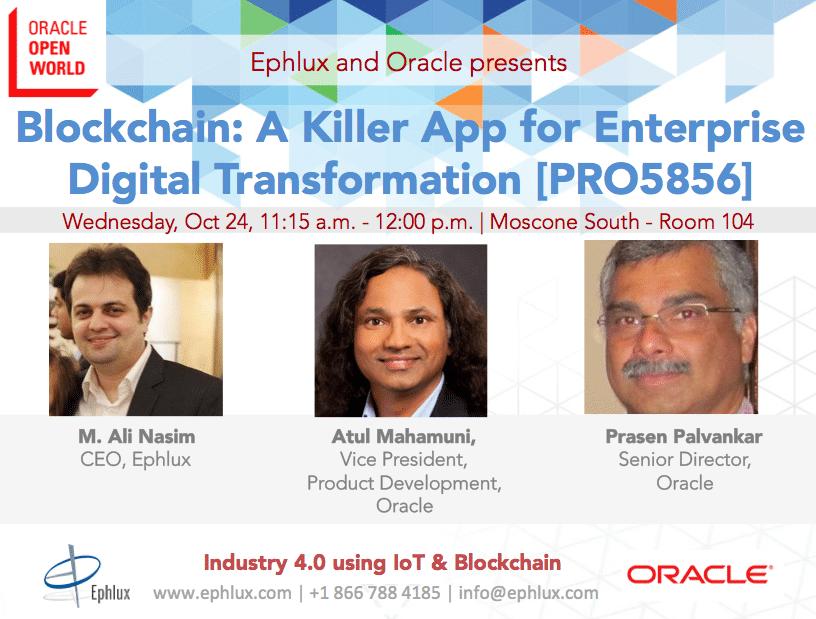 Pharma 4.0 Using Oracle Production Monitoring and Blockchain