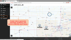 Create rules to generate warnings, incidents, and alerts to identify asset issues.