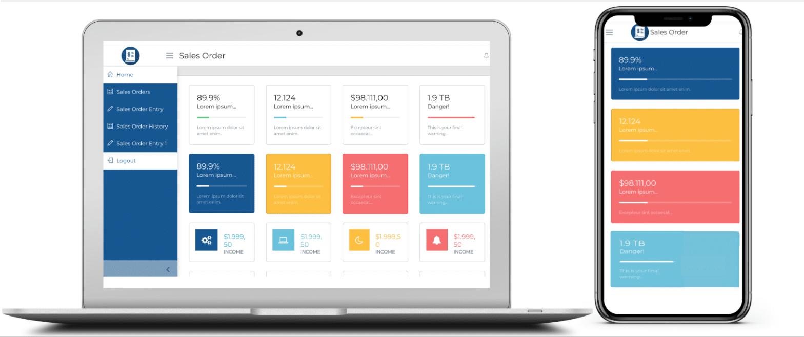 Swift app - Dashboard