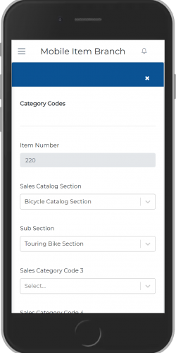 Category Code