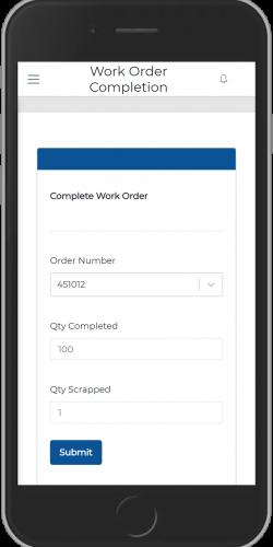 Complete Work Order