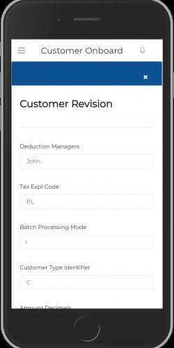 Customer revision