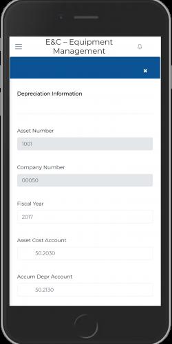 Depreciation Information