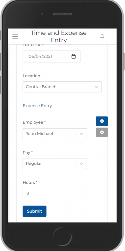 Employee Time Entry