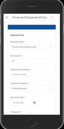 Expense Entry