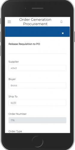 Release Requisition to PO