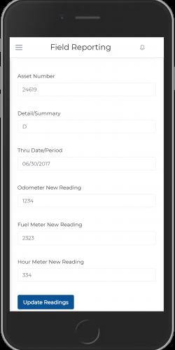 Update Meter Reading
